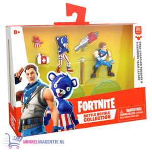 Fortnite Battle Royale Collection - Duo Pack Spangled Trooper & Fireworks Team Leader