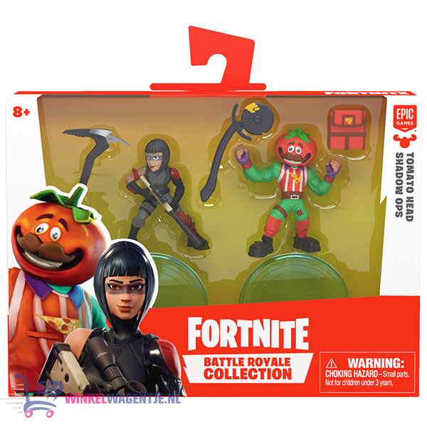 Fortnite Battle Royale Collection - Duo Pack Tomato Head & Shadow Ops