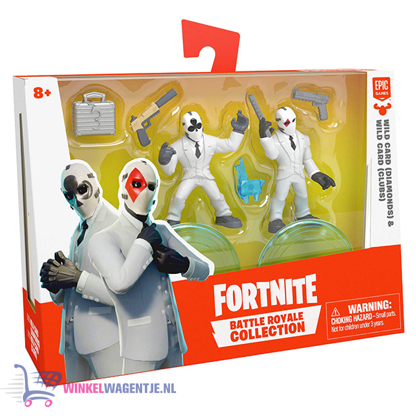 Fortnite Battle Royale Collection - Duo Pack Wild Card Hearts & Spade