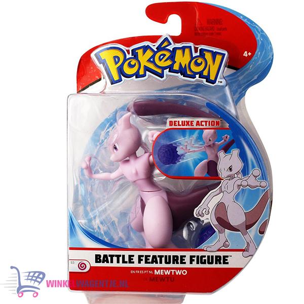 Pokémon Battle Feature Figure Mewtwo (Deluxe Action)