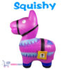 Squishy Figuurtje Fortnite Lama (Paars) 15 cm