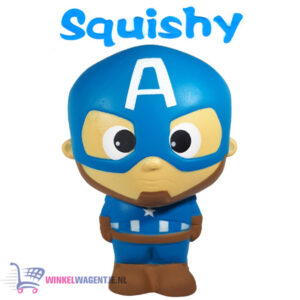 Squishy Figuurtje Marvel Captain America 15 cm