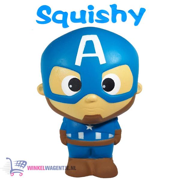 Squishy Figuurtje Marvel Captain America 15 cm
