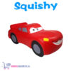 Squishy Figuurtje Cars Lightning McQueen 15 cm