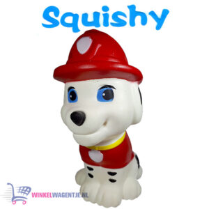 Squishy Figuurtje Paw Patrol Marshall 15 cm