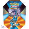 Pokémon Kaarten Spring V Tin 2021 (Lucario) + Pikachu Sleutelhanger en Charmander Sticker!