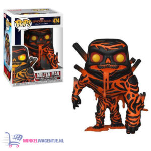 Molten Man - Marvel Spiderman - Funko Pop! #474