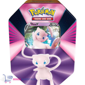 Pokémon Kaarten Spring V Tin 2021 (Mew) + Charmander Sticker!