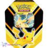 Pokémon Kaarten V-Powers Tin (Pikachu) + Random Pikachu Sleutelhanger!