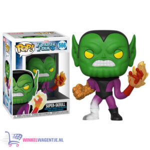 Super-Skrull - Fantastic Four - Funko Pop! #566