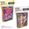 Pokémon Kaarten Mini Portfolio Sword & Shield Darkness Ablaze + Sword & Shield Rebel Clash (Incl. Pikachu Sleutelhanger & 2 Pokemon Stickers)