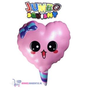JUMBO Squishy Happy Hart 15 cm