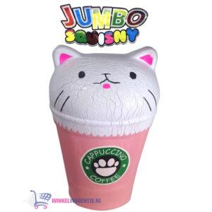 JUMBO Squishy Koffiebeker 15 cm