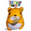 JUMBO Squishy Oranje Hamster 15 cm