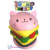 JUMBO Squishy Hamburger 15 cm