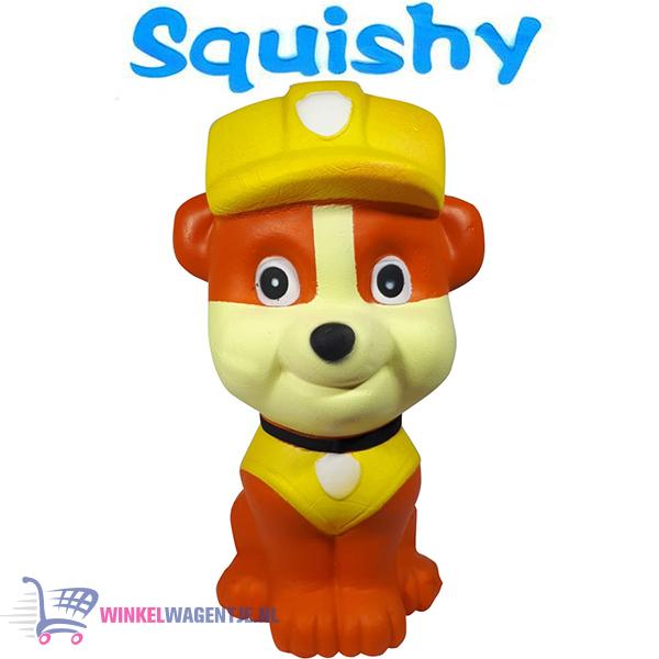 Squishy Figuurtje Paw Patrol Rubble 15 cm