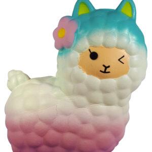 I Love Squishy Figuurtje - Alpaca Super Glow 15 cm