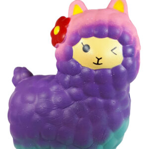 I Love Squishy Figuurtje - Alpaca Magic Glow 15 cm