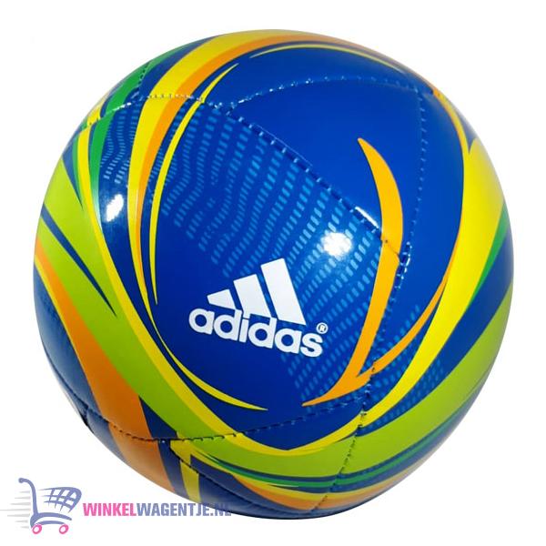 Adidas - Mini Voetbal (Blauw/Groen/Geel/Oranje)