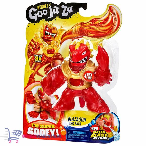 Heroes of Goo Jit Zu - Blazagon Hero Pack Speelfiguur