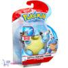 Pokémon Battle Feature Figure Blastoise (Deluxe Action) + Pikachu Sleutelhanger!