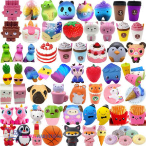 Pop It Fidget Toy Hart (Aqua) + 1 Willekeurige Sweet Squishy + Hartjes Sticker!