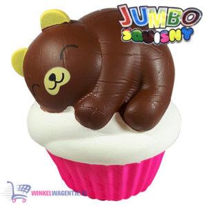 JUMBO Squishy Cupcake Bear 15 cm