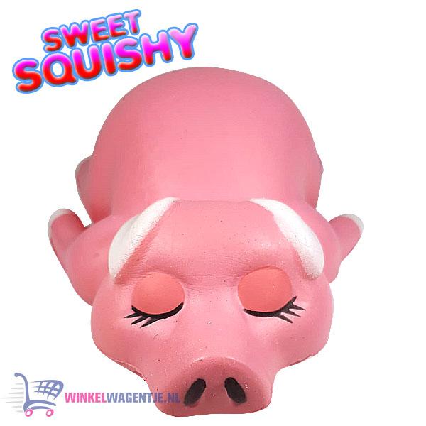 Sweet Squishy Figuurtje Meisjes Varkentje 10 cm