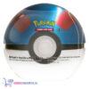 Pokémon Kaarten TCG Poké Ball Tin (Great Ball) + Pokemon Pikachu Sleutelhanger + 5 Pokémon Stickers!