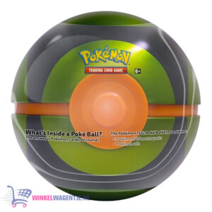 Pokémon TCG Poké Ball Tin (Ultra Ball) + Pokemon Pikachu Sleutelhanger + 3 Pokémon Stickers!