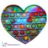 Pop It Fidget Toy Hart (Magic) + 1 Willekeurige Sweet Squishy + Hartjes Sticker!