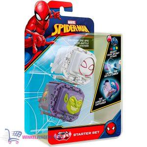 Marvel Fidget Battle Cube: Spider-Gwen VS Green Goblin + Star Wars The Mandalorian & Super Mario Bros Sticker!