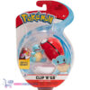 Pokemon Clip 'N Go - Squirtle + Poké Ball - Speelgoed