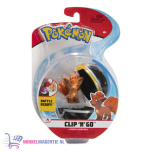 Pokemon Clip 'N Go - Vulpix + Luxury Ball - Speelgoed