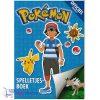 Pokemon Spelletjesboek + Pokémon Balpen + 5 Pokémon Stickers