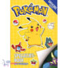 Pokemon spelletjesboek met stickers + Pikachu Sleutelhanger + 3 Pokémon Stickers