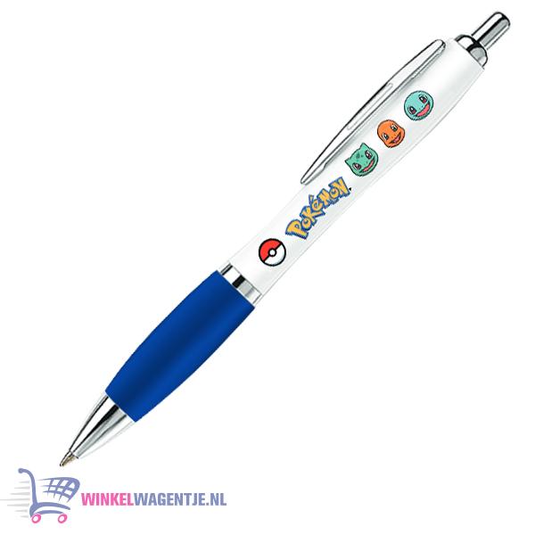 Pokémon Pen (Wit/Blauw) 14 cm