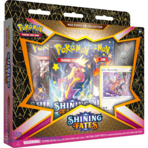 Pokémon Kaarten Shining Fates Mad Party Pin Collection Bunnelby