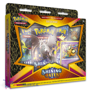 Pokémon Kaarten Shining Fates Mad Party Pin Collection Dedenne