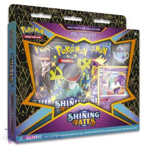 Pokémon Kaarten Shining Fates Mad Party Pin Collection Polteageist
