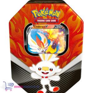 Pokémon Kaarten Galar Spring Tin - Scorbunny Cinderace V