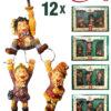 Efteling Volk van Laaf - Set van 12 Figuren (6 cm)