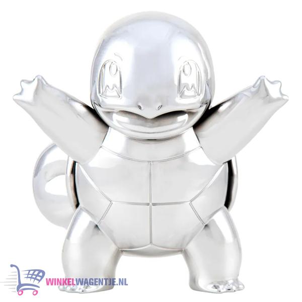 Squirtle Zilver - Pokémon Battle Figure Limited Edition - 25th Celebration (7 cm)