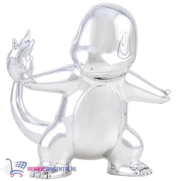 Charmander Zilver - Pokémon Battle Figure Limited Edition - 25th Celebration (7 cm)
