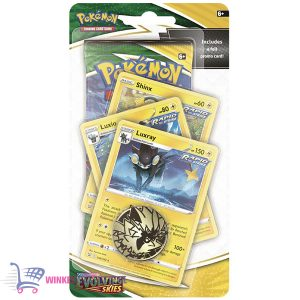 Pokémon Kaarten (10 stuks) Sword & Shield Evolving Skies Checklane - Luxray Luxio Shinx