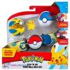 Pokémon Clip 'N Go Gordelset - Pikachu Poké Ball + Pokémon Balpen + 5 Pokémon Stickers