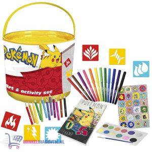 Pokémon Art & Activity Set 46 stuks