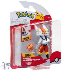 Pokémon Battle Feature Figure Cinderace 10 cm