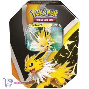 Pokémon Kaarten Fall Tin Eevee Evolution - Jolteon V