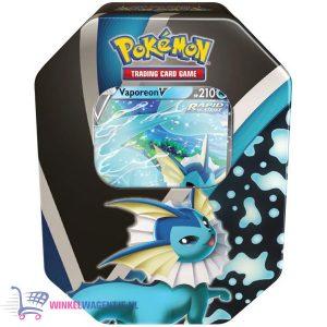 Pokémon Kaarten Fall Tin Eevee Evolution - Vaporeon V